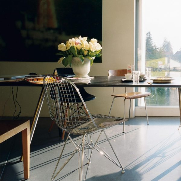 DKR Wire Chair DKR Wire Chair , chroom